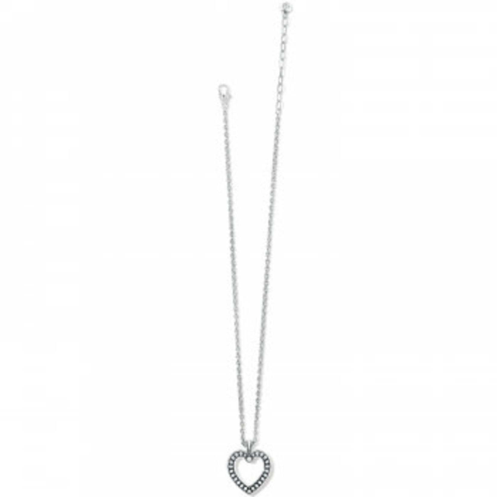 Brighton Pretty Tough Open Heart Necklace
