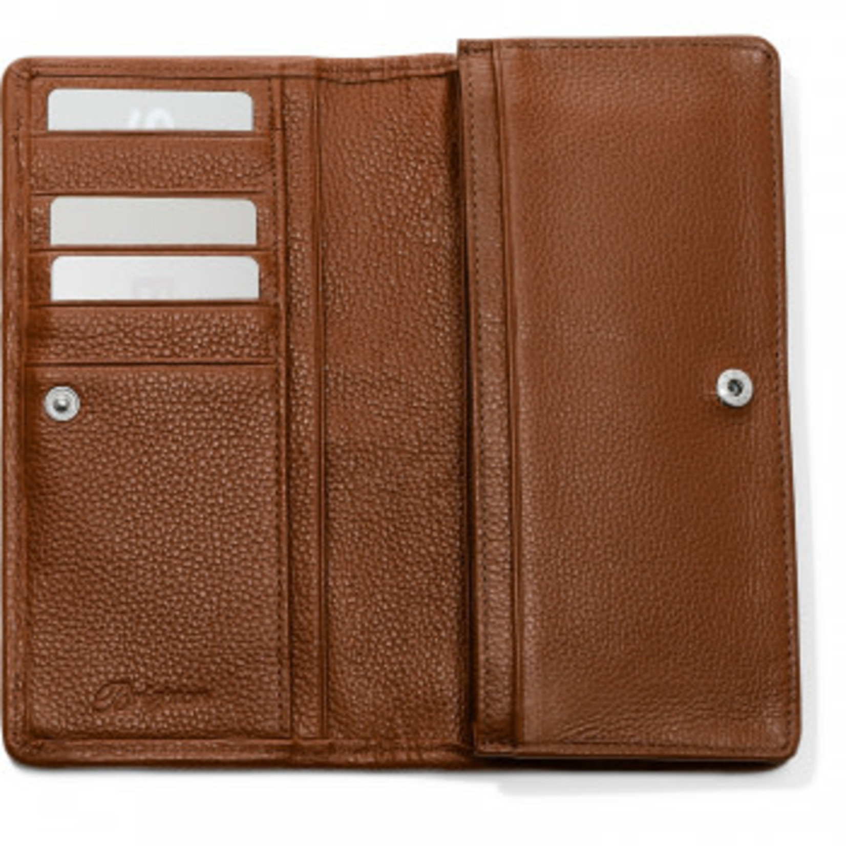 Brighton Interlok Rockmore Wallet in Bourbon