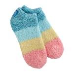 World's Softest Cozy Low Socks - Berry Popsicle