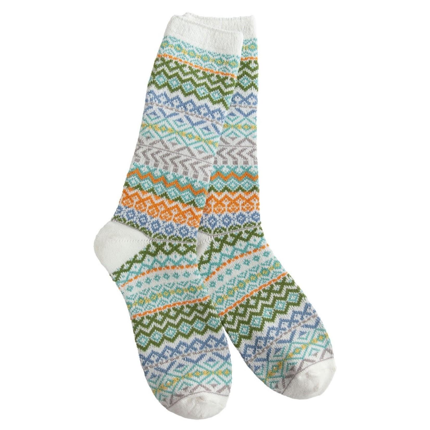 World's Softest Weekend Studio Crew Socks - Winter Mood