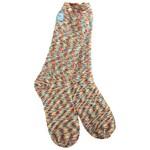 World's Softest Cozy Crew Socks- Carousel