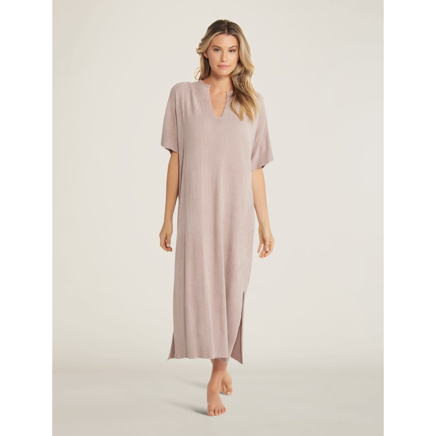 Barefoot Dreams CozyChic Ultra Lite Caftan in Faded Rose OS