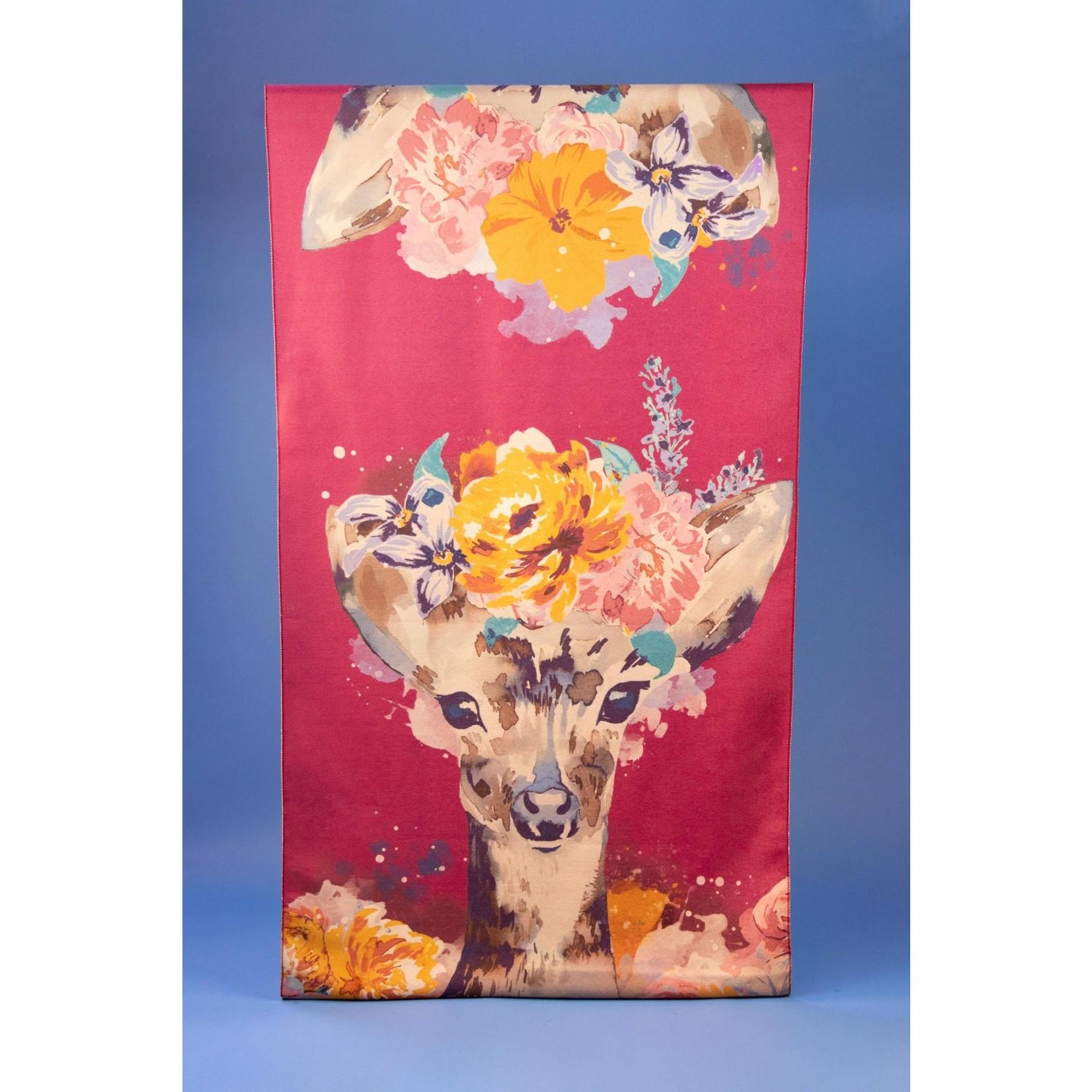 Powder Lux Floral Doe Scarf/Wrap
