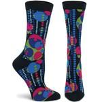 Ozone Socks FLW Garden Mural Socks in Black