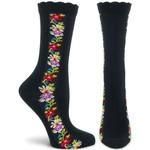 Ozone Socks Nordic Stripes Socks in Black