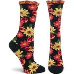 Ozone Socks Petunia Pomme Soleil Socks in Black
