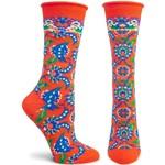 Ozone Socks Precious Plume Socks in Red