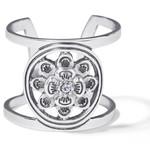 Brighton Christo Bergen Wide Ring-Silver