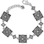 Brighton Alcazar Mystique Bracelet-Silver-Black