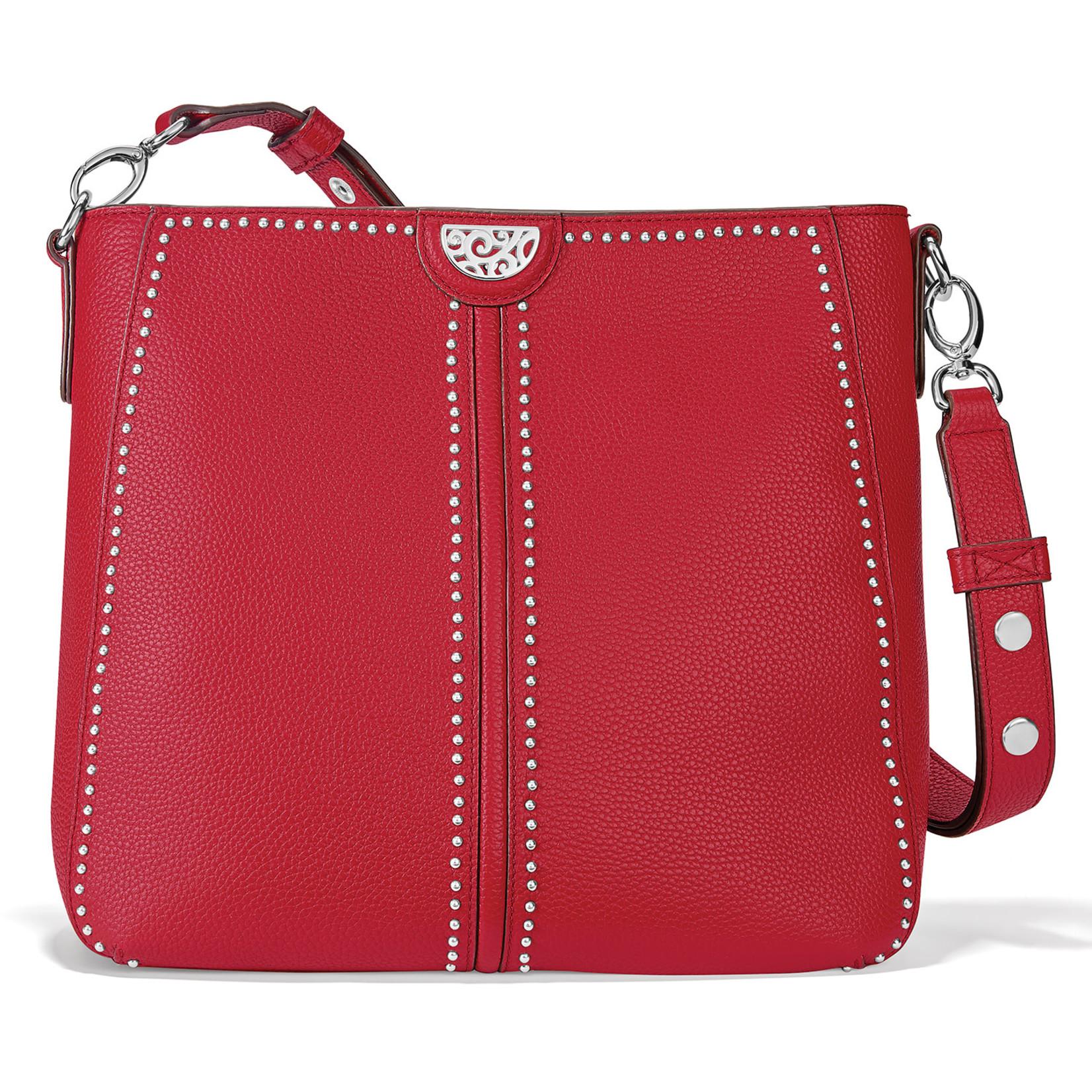 Brighton Nikki Convertible Shoulder Bag in Lipstick