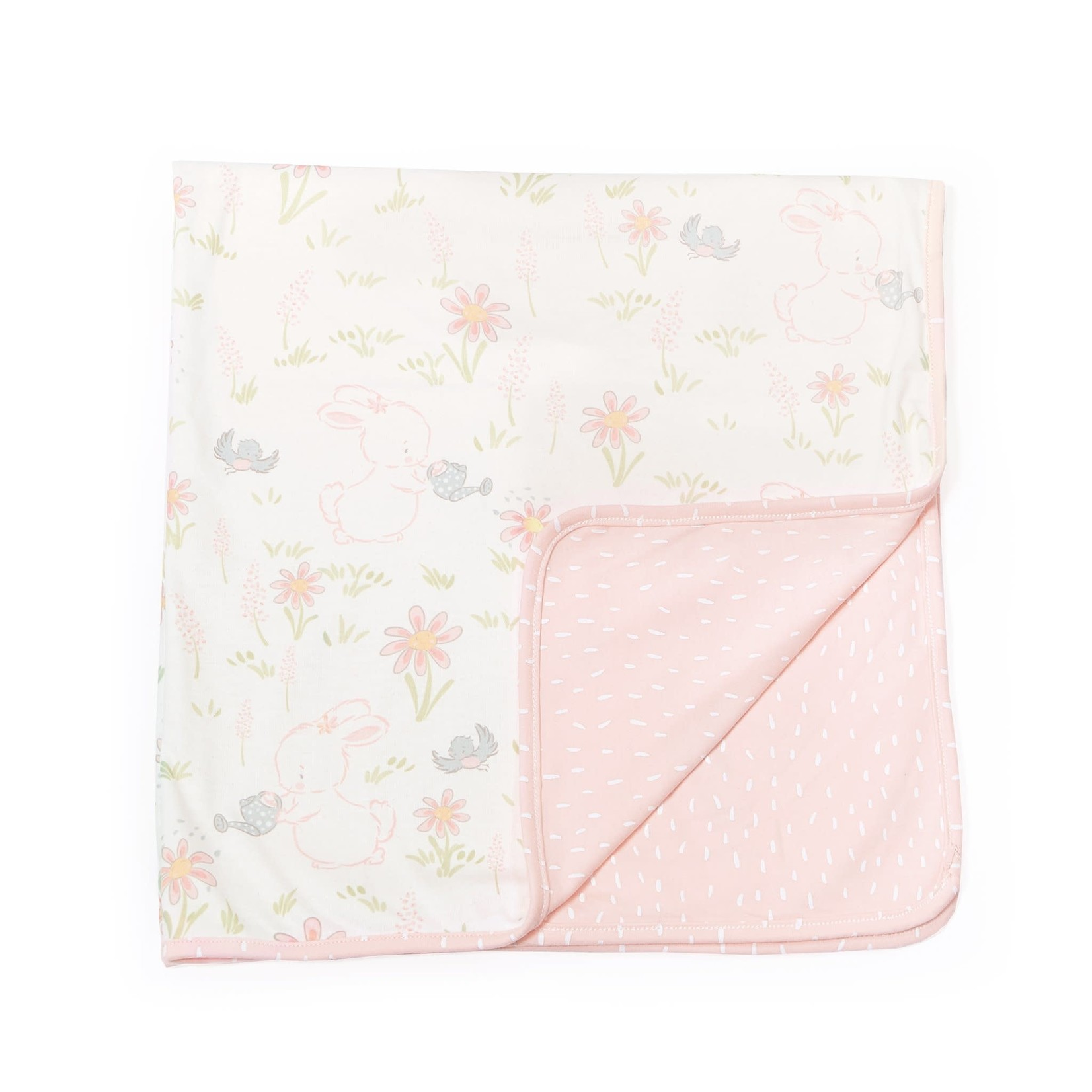 Bunnies By  Bay Blossom Receiving Blanket 32x32