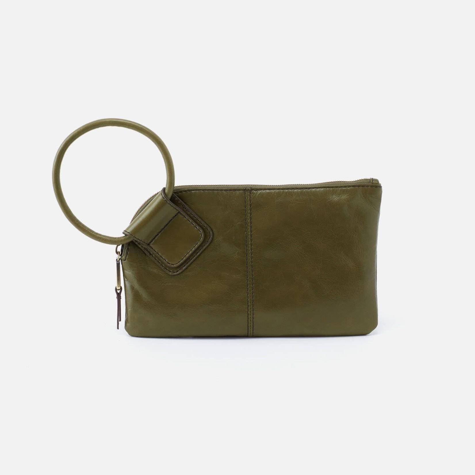 HOBO Sable Moss Vintage Hide Leather Wristlet w/Loop