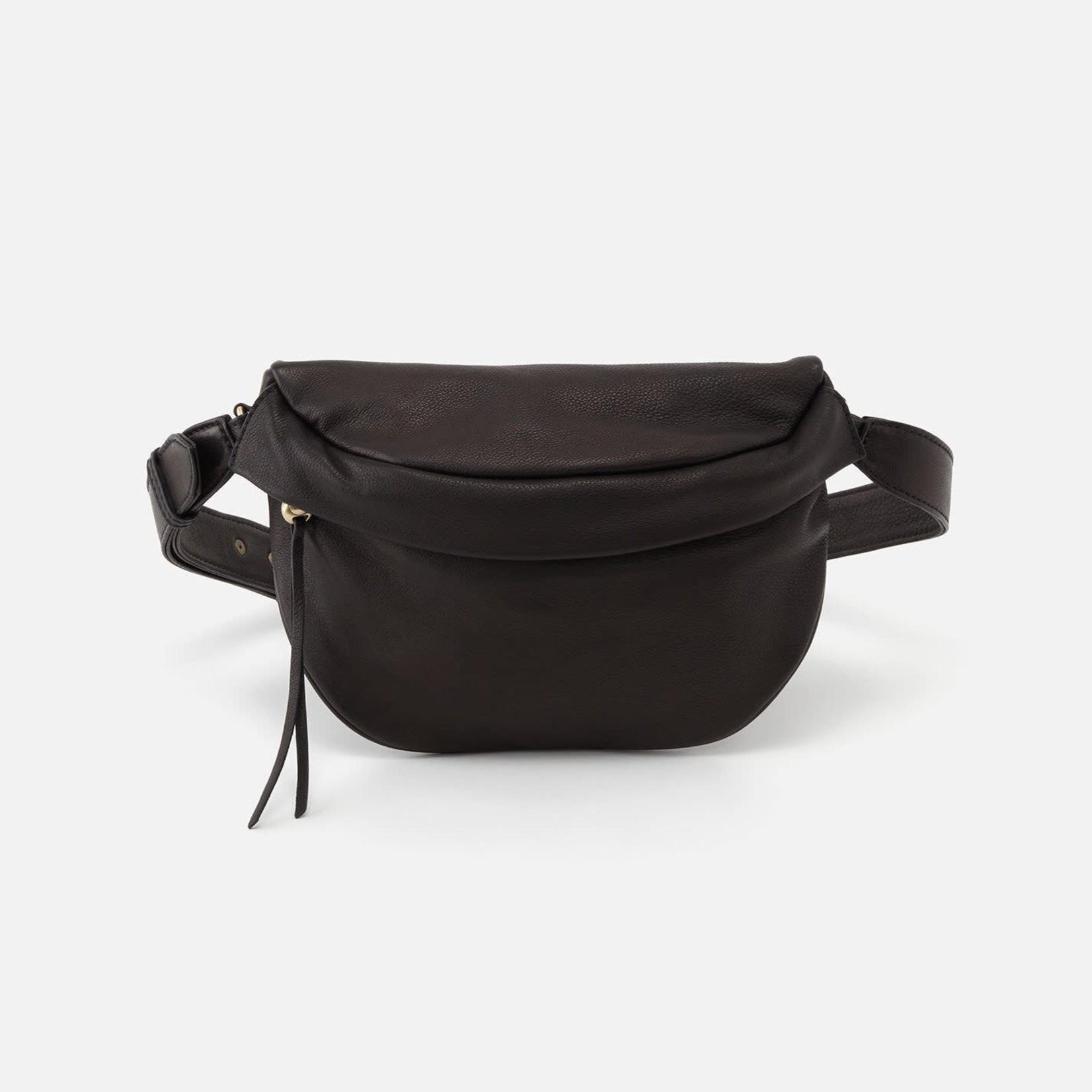 HOBO Remedy Black Soft Hide Belt Bag