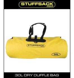 Schampa Schampa Stuffsack Dry Duffle bag 30L Yellow
