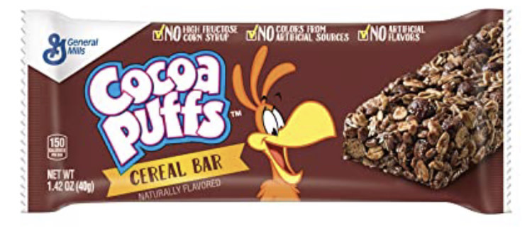 Cocoa Puffs Bar