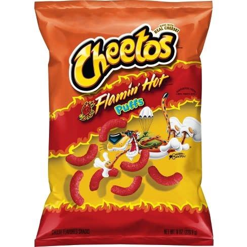 Cheetos Flaming Hot Puffs