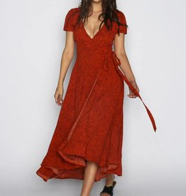 Lira Floral Wrap Dress