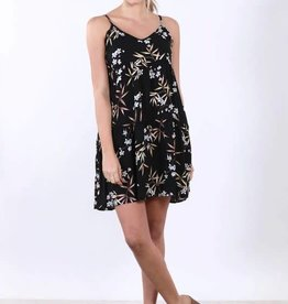 Final Touch Japanese Floral Babydoll Dress