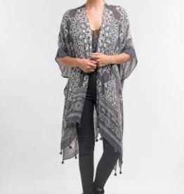 Lovestitch Medallion Tassel Kimono
