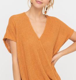 Lush Knit Wrap Top
