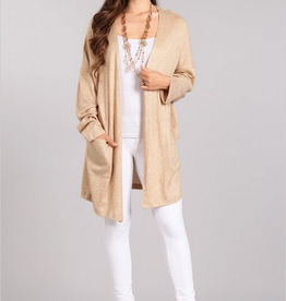Chris & Carol Drop Sleeve Pocket Cardigan