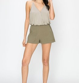 HYFVE Structured Deep Pocket Shorts