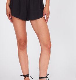Amuse Society Woven Elastic Waist Shorts