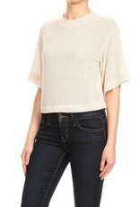Ginger G Crop Knit Tee
