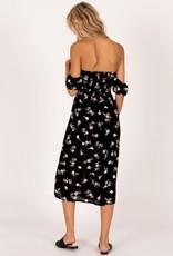 Amuse Society Off Shoulder Midi Dress