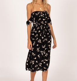 Amuse Society Off Shoulder Midi Dress