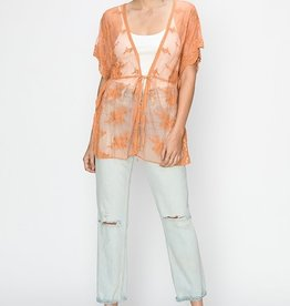 HYFVE Belted Lace Kimono