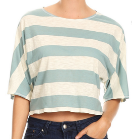 Ginger G Oversized Crop Top