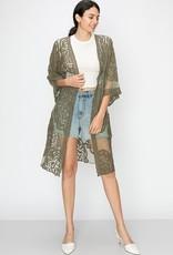 HYFVE Long Lace Kimono