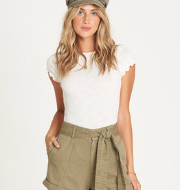 Billabong Belted High Waist Shorts