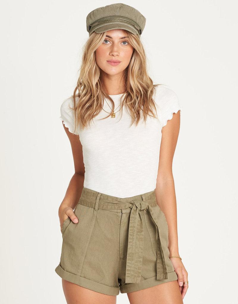 Billabong Belted High Waist Shorts