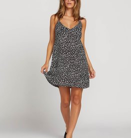 Volcom Cherry Print Sun Dress