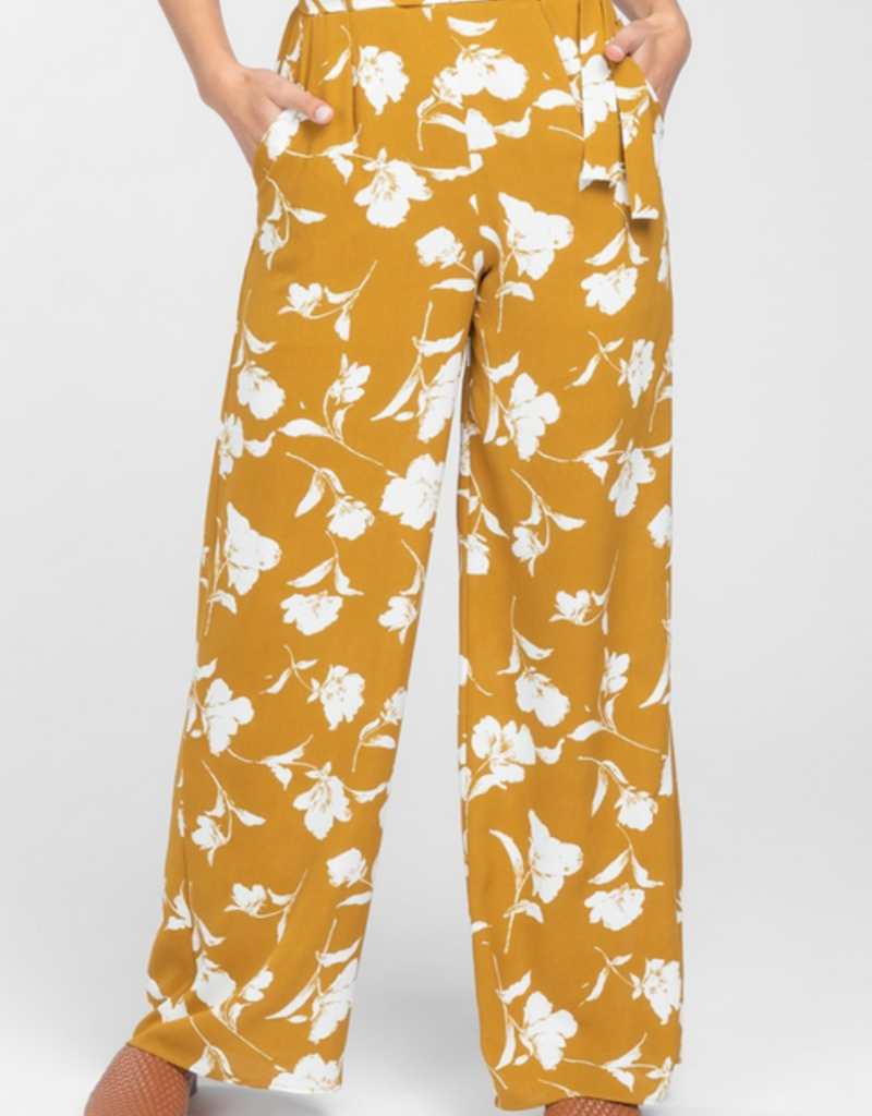 Everly Printed Woven Jumpsuit