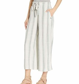 Volcom Striped Wide Leg Drawstring Pants