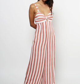 Lira Striped Wide Leg Jumpsuit