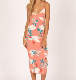Amuse Society Lilies Midi Dress