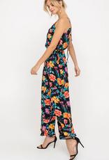 Lush Vibrant Floral Jumpsuit