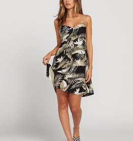 Volcom Palm Print Cami Dress
