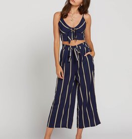 Volcom Striped Wide Leg Pants