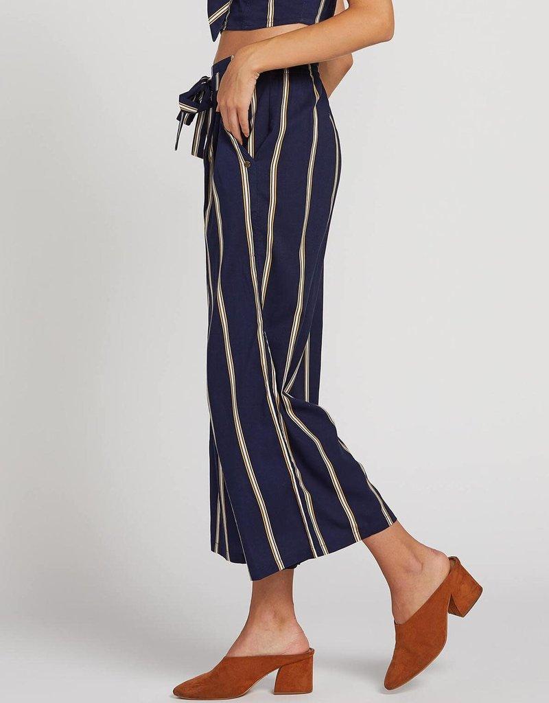 Volcom Striped Wide Leg Pants