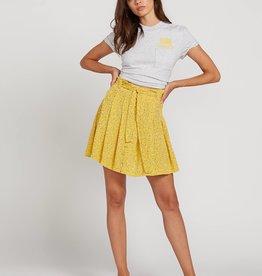 Volcom Floral Paperbag Skirt