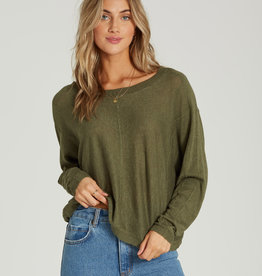 Billabong Cropped Knit Pullover