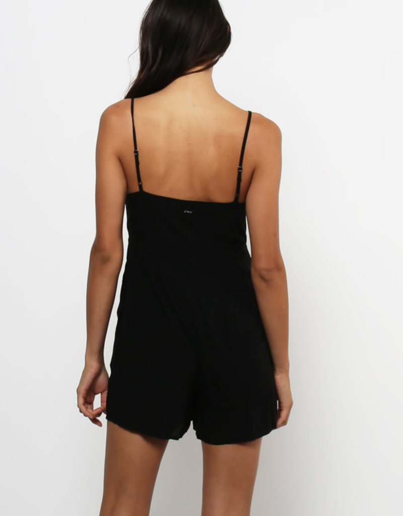 Lira Knotted Front Romper