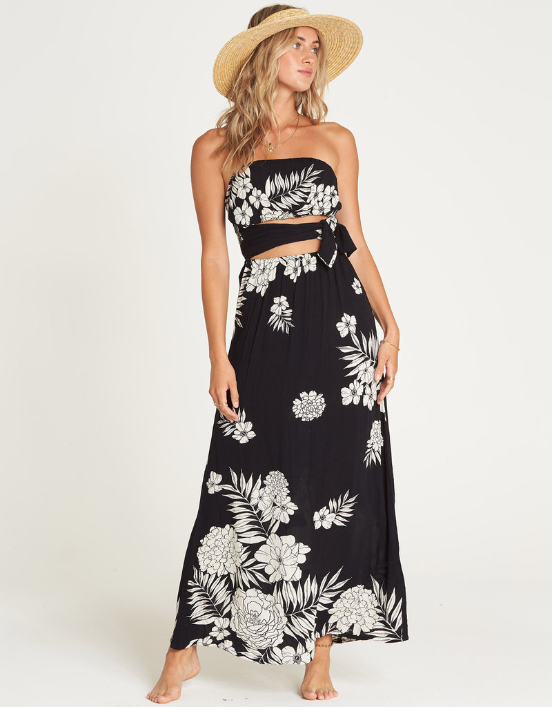 Billabong Cut Out Tube Dress