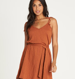Billabong Tie Shoulder Dress