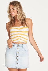 Billabong Button Up Denim Skirt